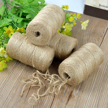 Twisted Jute Twine Rope Natural Hemp Cord String Craft Home Party Decor 90m