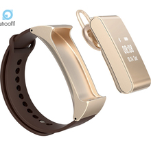 Smartband UF-M8 Smart Wristband Spot Talk band Bracelet Bluetooth Headset Headphone Health Smart Band for IOS Android Phone