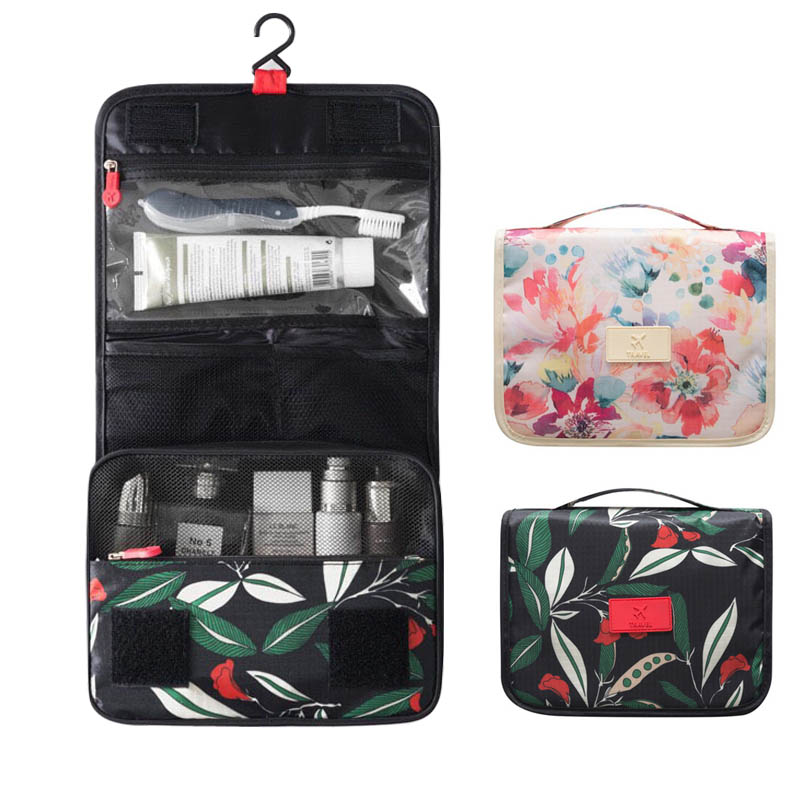 High-end designer ladies cosmetic bag travel beautician multi-functional men and women portable cosmetic storage brush essential