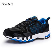 Fine Zero Men big size 48 tenis trainers women summer autum Shoes Mens Sport Sneakers Male Jogging Shoes Laces Athletic Sneakers(China)