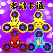 [TOOL] Hand Spinner Fidget Tri Spinning Clover EDC Ceramic amp Steel Gyro Pokemons Toy Pikachu Reduced Pressure Tool #0286 - WED Department Store 1 store