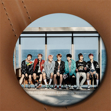 Youpop BTS Bangtan Boys YOU NEVER WALK ALONE Album Brooch Pin Badge Accessories For Clothes Hat Backpack Decoration XZ0567