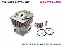 Cylinder Piston Kit for STIHL FS280 Brush Cutter.Grass Trimmer.Lawn Mower.Tiller.Gasoline Engine Garden Tools Spare Parts