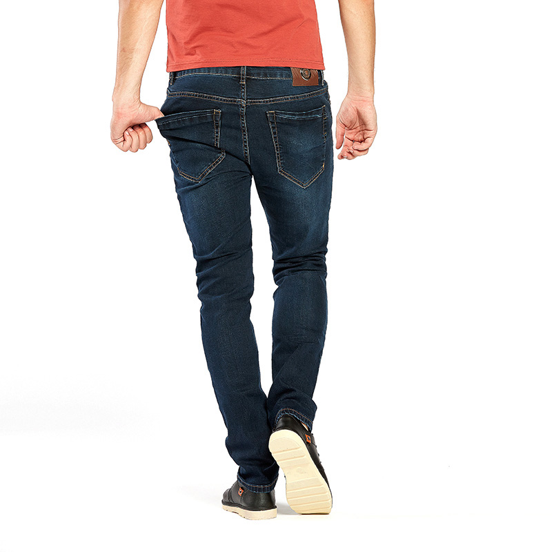 Slim fit jeans schwarz