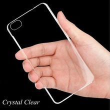 "Super Thin Clear Case For iPhone 7 7 plus 4S 5 5S 5C 6 6S 4.7"" Plus 5.5"" Transparent Crystal Hard Plastic Back Cover Bag 518"