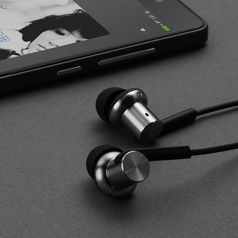 100% Original Xiaomi Hybrid Earphone In-Ear HiFi Earphones 2 Multi-unit Circle Iron Mixed Earphone For Xiaomi Mobile Phone MP3<br><br>Aliexpress