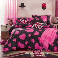 Promotion !!! Bedding bed linen 4pcs Bedding Set duvet set bed set bed linen TYBO90D(China)