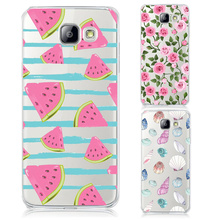 Buy Phone Cases Samsung Galaxy A3 A5 A7 J1 J5 J7 2015 2016 2017 Fruit Watermelon Transparent Hard Cover Fashion Colorful Coque for $1.47 in AliExpress store