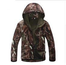 Mens Military Tactical Jacket Waterproof Windbreaker Camouflage Hunt Camp Travel Thermal Fleece Jacket and Coat