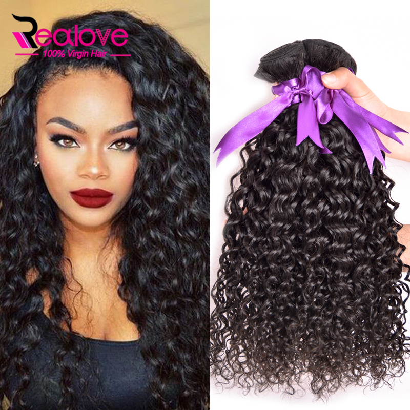 Brazilian Water Wave Virgin Hair 4Pcs Mink Brazilian Hair Weave Bundles, Curly Weave Human Hair Bundles 8A Brazilian Curly Hair<br><br>Aliexpress