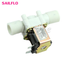 "Hot Electric Solenoid Valve Magnetic DC 12V N/C Water Air Inlet Flow Switch 1/2"" #G205M# Best Quality"