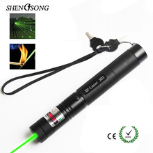Long distance 1000mw Green Beam Lasers Sight Rifle Scope Riflescope 532nm Lazer Hunting Laser Pointer Charger for 18650 battery