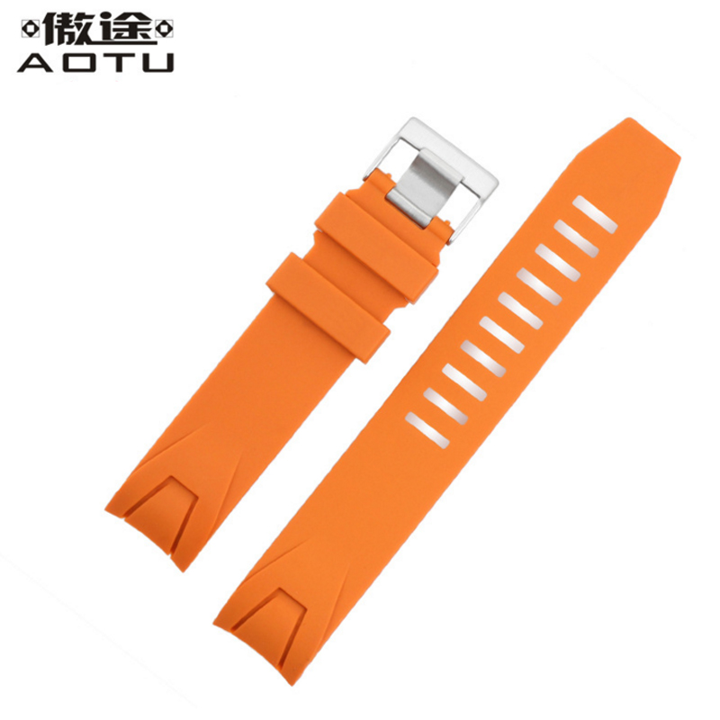 20MM Silicone Watch Straps For OMEGA SEAMASTER Planet Ocean Men Casual Watchbands Clock Watch Strap For Male Watch Belt Band<br>