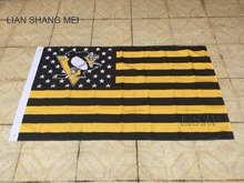 NHL Pittsburgh Penguins Flag 3x5 FT 150X90CM Banner 100D Polyester flag , free shipping(China)