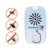 Multifunction Ultrasonic Pest Control Anti Insect Bug Wasp Rat Fly Mosquito Zapper Reject Enhanced Electronic Pest Repellent(China)