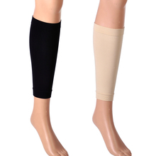New 1 Pair Spandex Medical Support Leg Shin Socks Calf Slim Sleeve Sock Compression Brace Wrap Hot for Women Lady Dancing Warmer