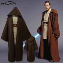 Star Wars Jedi Knight Anna Gold Cloak Set Cosplay Costume 7 Pcs/Set Men'S Full Set Cs5 Z20