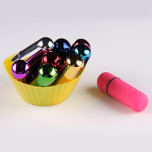 Free Shipping Mini Bullet Vibrators, Waterproof Wireless Vibrating Bullets, Adult Sex Toys for Woman, Sex Products(China)