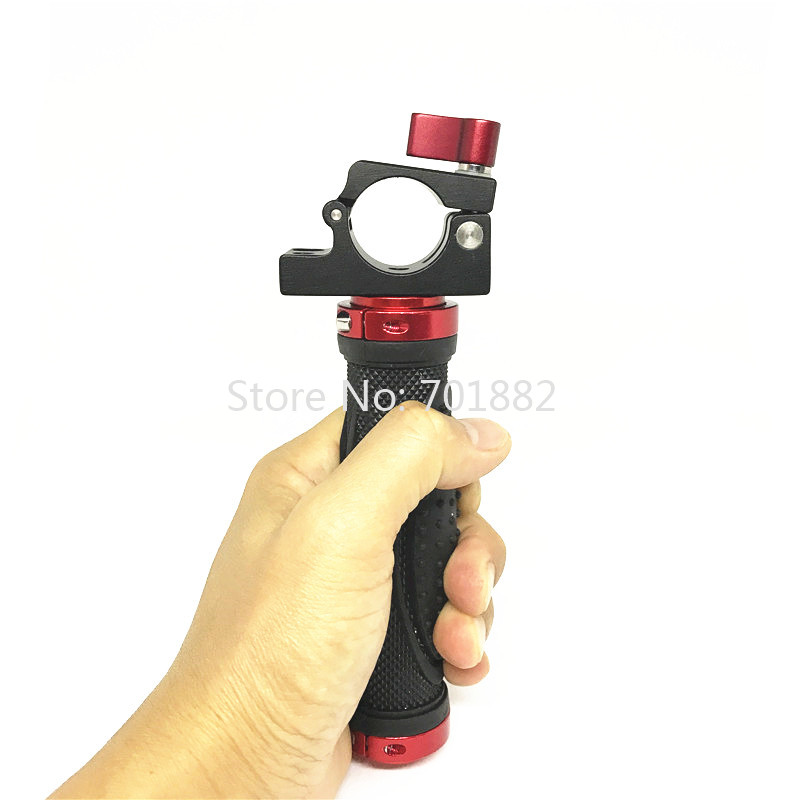 Jadkinsta 2in1 Camera Handle Grip Stabilizer + 25mm Rod Clamp for DJI Ronin-M Photography Accessories (2)