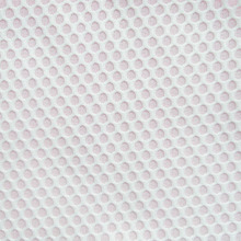1 piece/5 yards Fashion White Knitted Fabric Autumn and Spring Honeycomb Bonded Apparel Fabrics tissu tecidos Free Ship Hot Sale