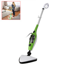Russia seller! 220V multifunction home 10 in X10 10 mop 1 steam 1  S032 steammop steam cleaner