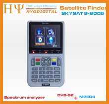 [Genuine] SKYSAT S-8005 DVB - S / S2 HD Spectrum analyzer Digital Satellite Finder SKYSAT S-8005