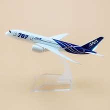 Air Japan ANA Airlines Boeing 787 B787 8 Airways Plane Model Aircraft 15cm Alloy Metal Airplane Model w Stand Craft Gift