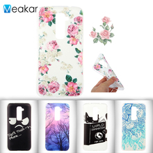 Fashion Exquisite Painted Pattern TPU 5.2for LG G2 Case For LG G2 D802 D801 F320 mobile Phone Back Cover Case