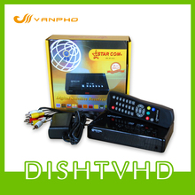 STAR COM SR-M1 TV Box FTA SD Digital Satellite Receiver DVB-S DVB-S2 MPEG(China)