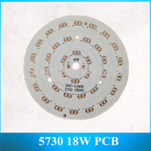 5730 SMD Aluminum Plate 18W 36 SMD LED Base Plate PCB 18 Series 2 and 90MM 40pcs