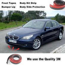 For BMW 5 M5 E28 E34 E39 E60 E61 Bumper Lips / Car Tuning Spoiler / Body Kit Strip / Front Tapes / Body Chassis Side Protection