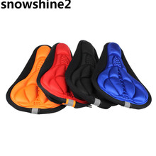 snowshine2 #3001 Cycling Bike 3D Silicone Gel Pad Seat Saddle Cover Soft Cushion wholesale(China)
