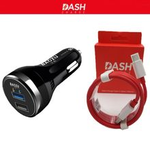 OnePlus Dash Car Charger One Plus 5 car charger DASH Charge Fast car Charger  2 USB port Car charger &Original cable For 3T/3/5