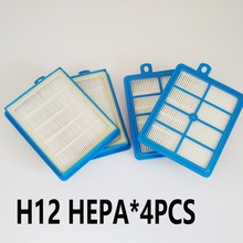 4 pcs/lot  HEPA FILTER 12  for Philips   STAUBSAUGER HEPA  MARATHON FC 9200 - 9218 SILENT STAR SPECIALIST