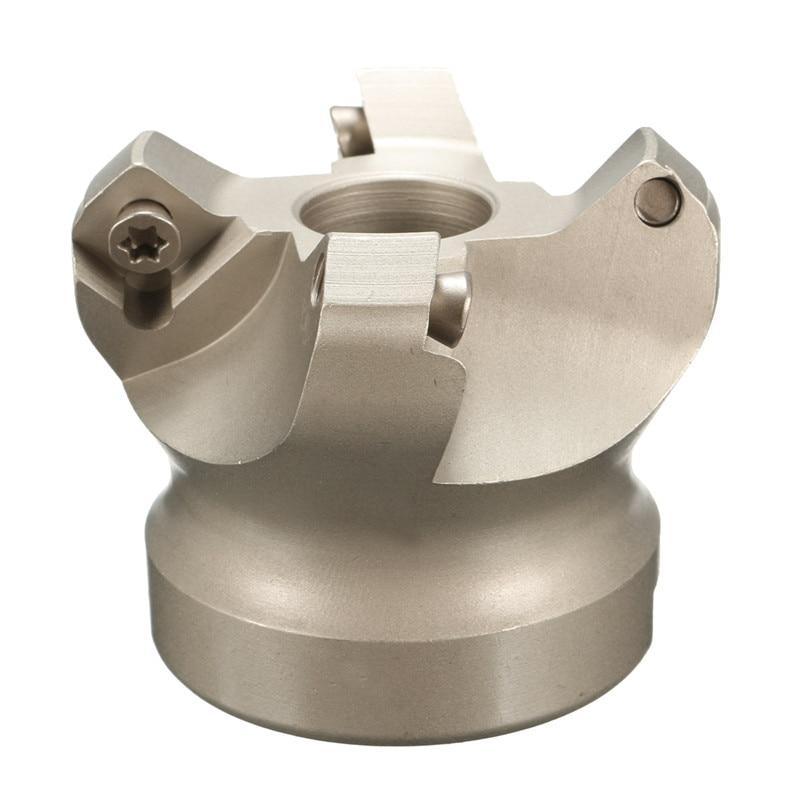 Hot Sale KM12 50-22-4F 45 Degree Face Alloy CNC Milling Cutter Lathe Tool Face Mill Cutter For SEKT1204 Insert Blade<br><br>Aliexpress