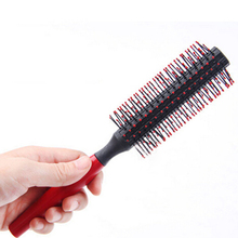 New Special Plastic Comb Brushes For Women Cheap Red Brush For Hair Heat Resistant  Hairbrush Styling Tools