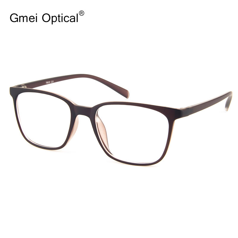 Simple Design Ultra-Light Semi-Transparent Optical Frame Stylish Spectacles For Women's Prescription Eyeglasses(China)