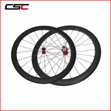 2017 New Cycling Carbon Wheels 50mm Clincher Carbon Wheelset 700C Super Light Carbon Wheels Hot Sell(China)