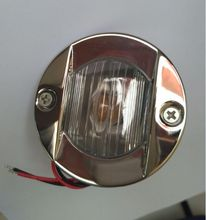 Marine Boat Yacht Stainless Steel Transom Mount Stern Navigation Light