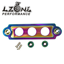 LZONE RACING- NEO CHROME Battery Tie Down for Honda Civic 88+ 94+ Integra S2000 EK EJ EG DC2 JR-BTD71CR
