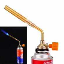 New Arrival Flame Butane Gun Gas Torch Burners Jet Fire Lighter Weld Welding Soldering Picnic Camping Heating Outdoor