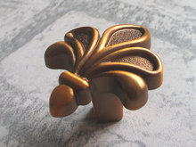 Knobs Cabinet Door Handle Pull Dresser Drawer Handles Pulls Knobs Gold Brass/ French Country Rustic Kitchen Hardware
