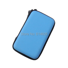 Light Blue Hard Case Bag Carry Pouch Sleeve for Nintendo DSL NDS Lite