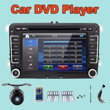 7 inch 2 din Multimedial Car DVD Player GPS Navigation for VW GOLF 6 new polo New Bora JETTA B6 PASSAT SKODA GPS Map