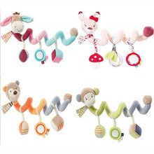 New Infant Toys Baby Crib Revolves Around The Bed Stroller Playing Toy Crib Lathe Hanging Baby Rattles Mobile LA886316