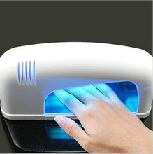 Lampada Curing Unhas De Gel UV Light Nail Dryer 9W Gel UV Lamp Manicure Tool nail dust collector beauty salon equipment