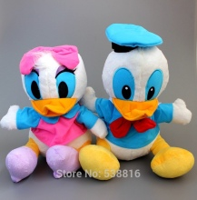 High Quality Donald Duck Daisy Duck Doll Plush Toy Children's Day Gifts 28-32CM