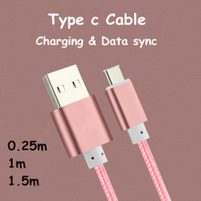 Usb 3.1 Type C Cable Usb-C Android Charger Charging Cabel For Samsung Galaxy S8 Plus A5 A3 A7 2017/Sony Xperia Xz/Lg G6 G5 V20