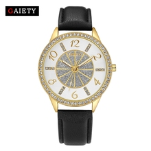 GAIETY Brand Casual Women Luxury Gold Jewelry Bracelet Watch Fashion Analog Quartz Watch For Women Ladies Classic Wristwatch