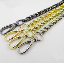 2017 China Factory 7mm Thickness Purse Chain Bag Part Coin Purse Locker Pattern Rope Handle Strap Supply Accessory Metal Chains(China)